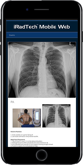 Radiographic Positioning Guide Apps - iRadTech